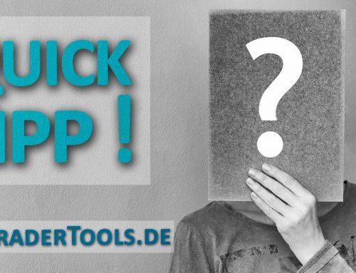 QuickTipp (#9): Intelligente Teilverkäufe und Trail-Levels mit GOST