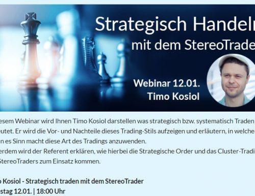 Webinar – Strategisch Handeln mit dem StereoTrader – FXFlat